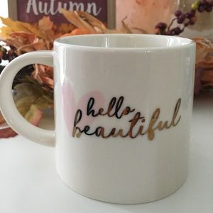 "🆕""HELLO BEAUTIFUL"" Decor Mug"